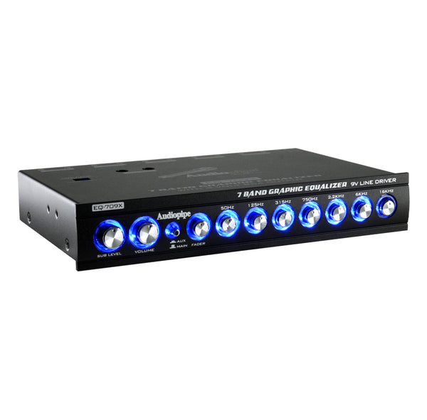 EQ-709X Graphic Equalizer - 7 Band - 9 V Line Driver