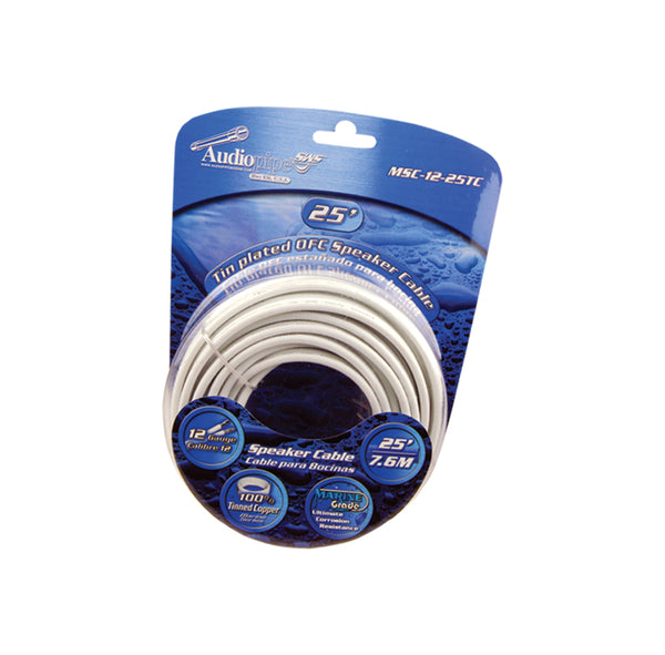 MSC-18-50TC Flexible PVC Tin Copper-Plated OFC Speaker Wire 18 AWG