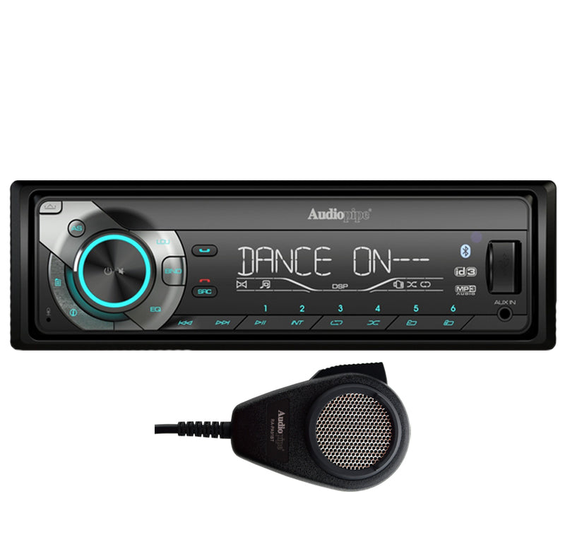 RA-PA91BT Bluetooth Single DIN Receiver With PA Function