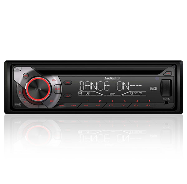 RAC-103 Single Din CD Receiver