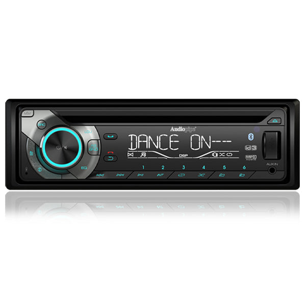 RAC-107BT Single Din CD Receiver with Bluetooth