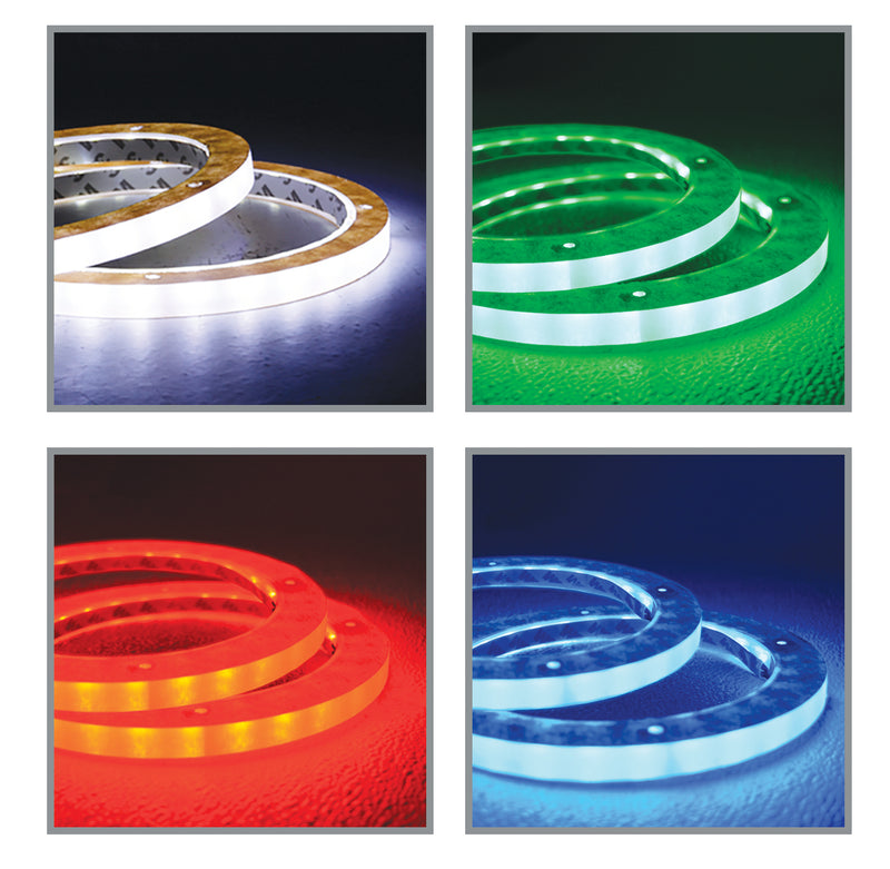 "NL-RI1050 RGB 10"" LED Speaker Rings"