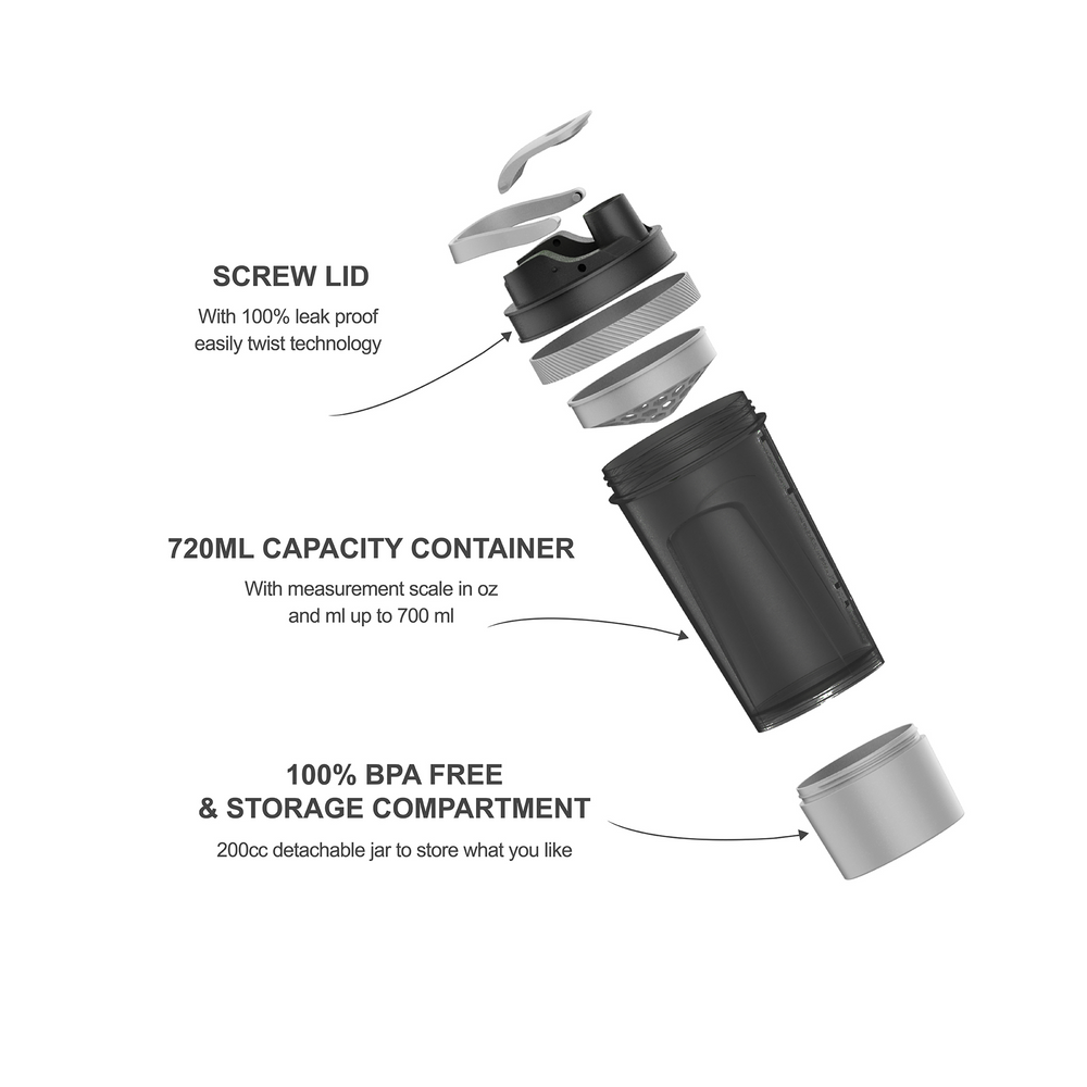 24 oz Filter Blender Bottle - Simple HH