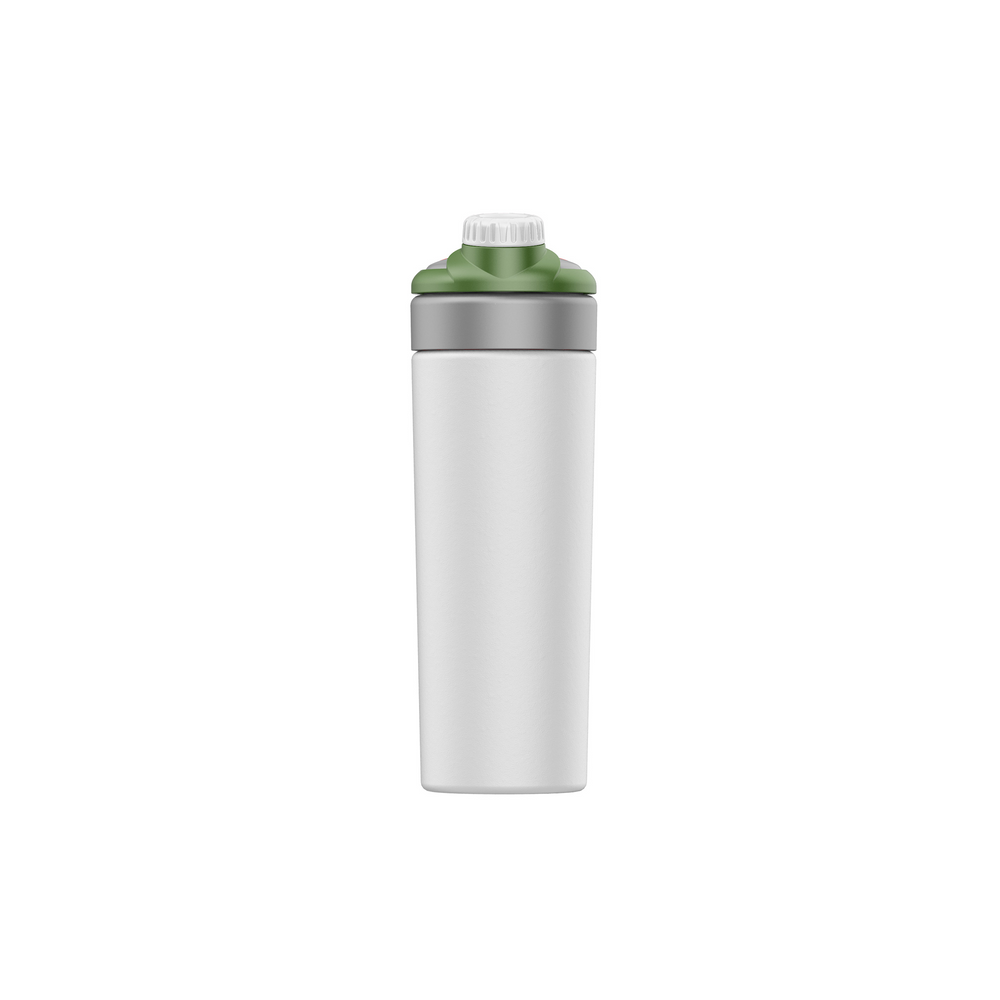 23oz Stainless Steel Sports Bottle White