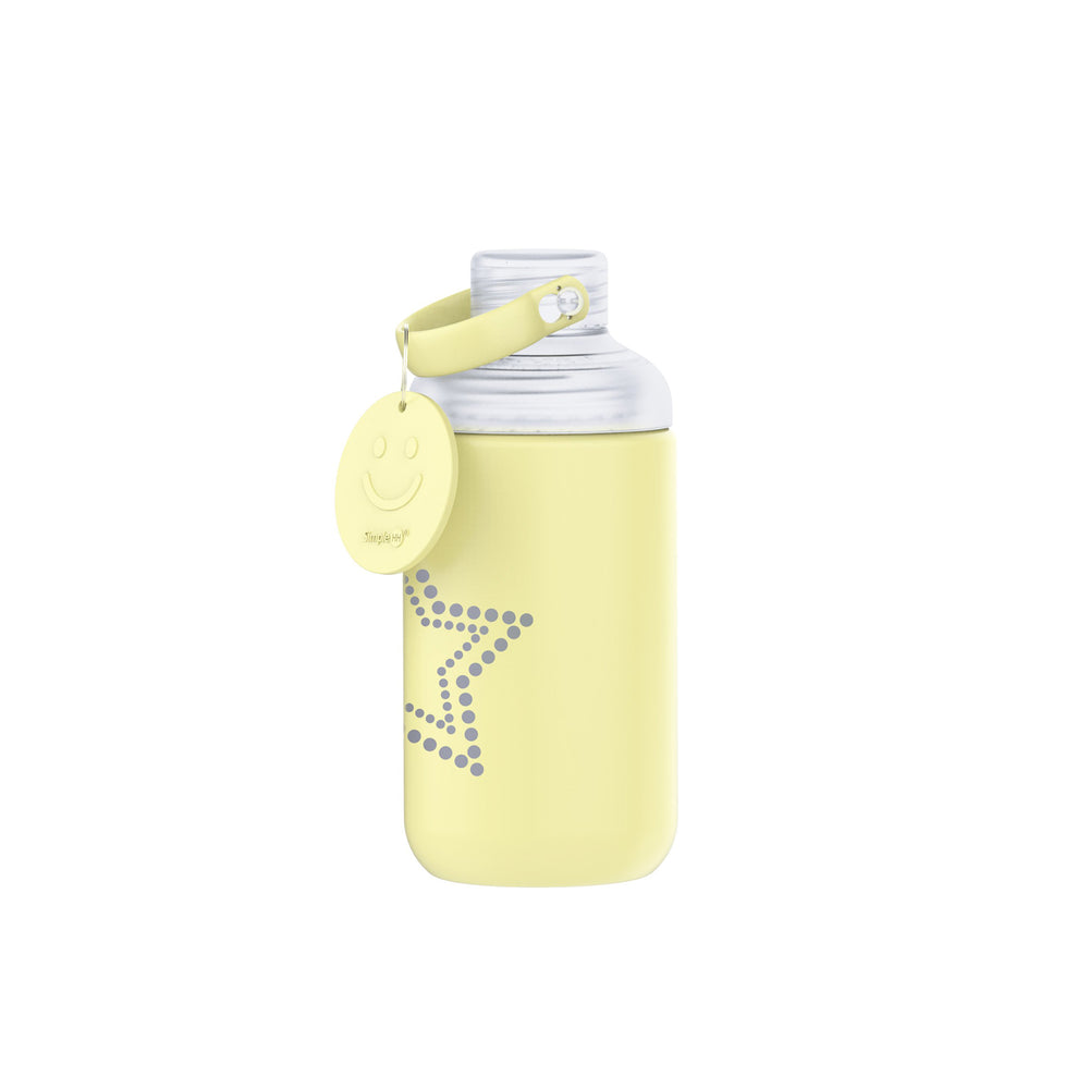 16oz Glass Bottle Yellow
