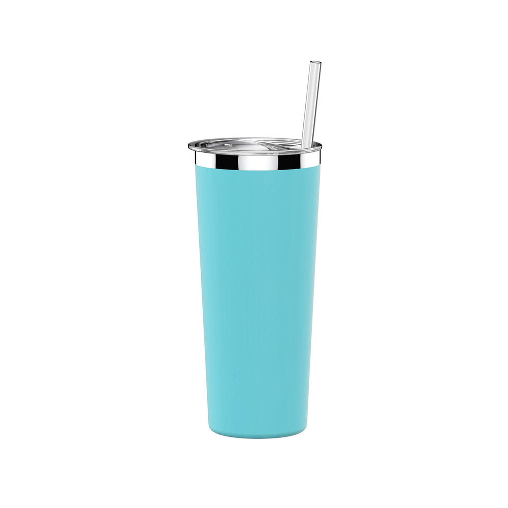 22oz Straw Lid Tumbler Tiffany Blue