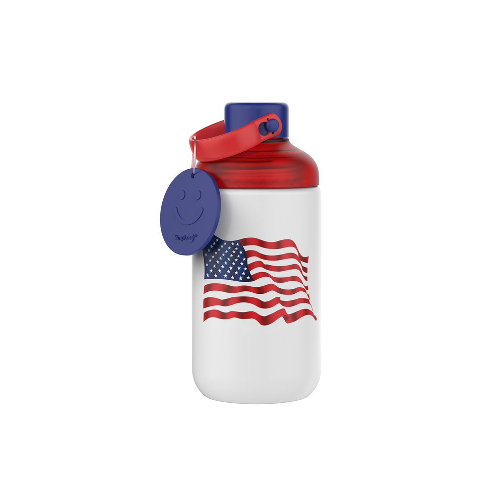16oz Glass The Tie-Dye/Flag Bottle