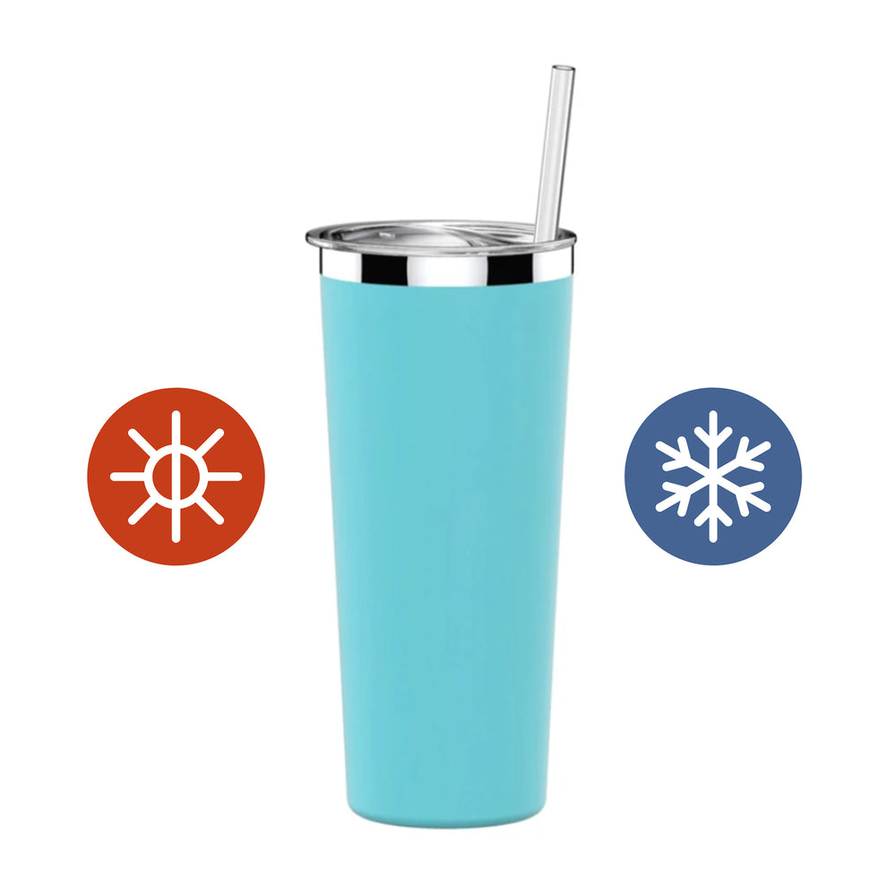 22 oz Hypebae Tumbler in Tiffany Blue - Simple HH