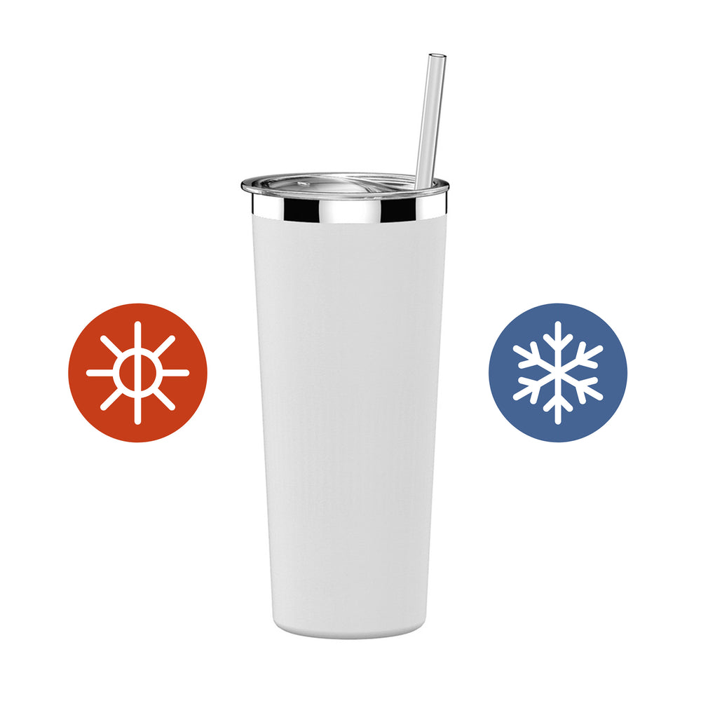 22 oz Hypebae Tumbler in White