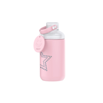 16oz Star Glass Bottle Pink
