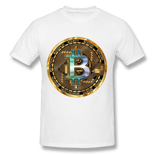 camiseta bitcoin blanco