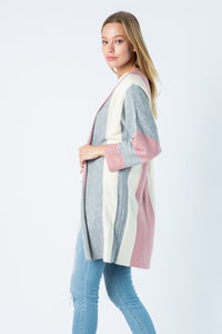 Rock Block Cardigan