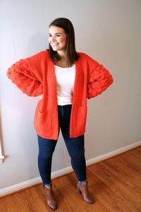 Bold Bubble Cardigan