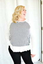 Load image into Gallery viewer, Nothin' but a Houndstooth Top