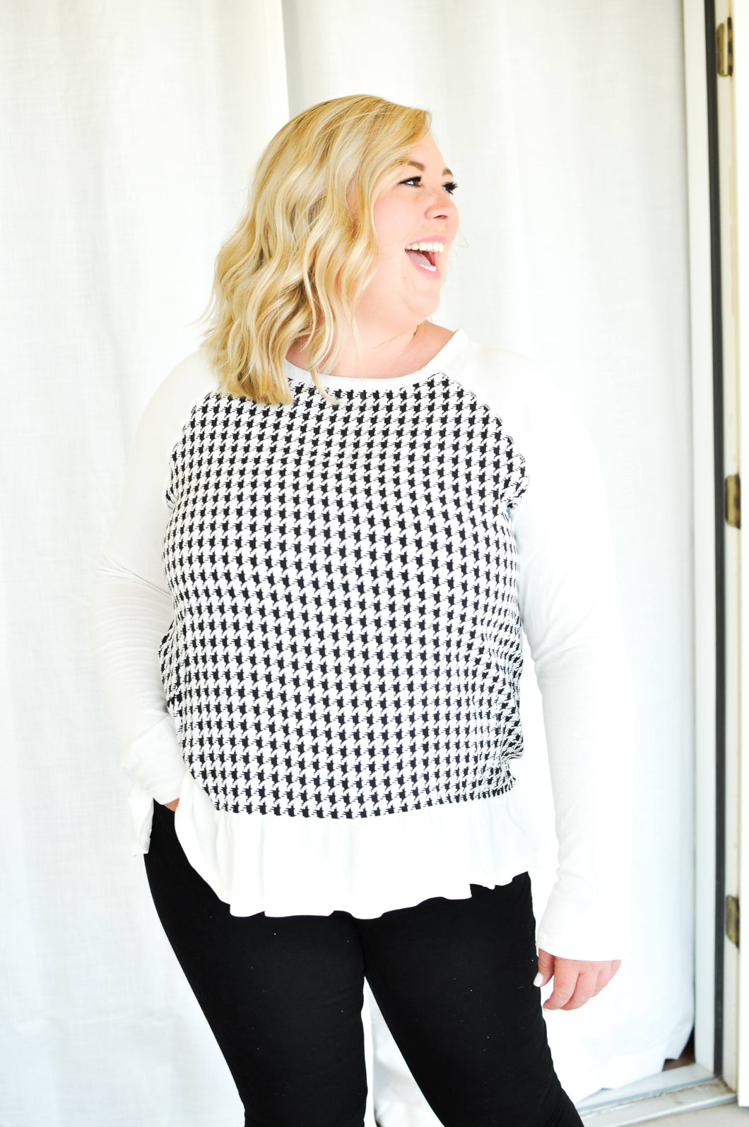 Nothin' but a Houndstooth Top