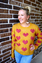 Load image into Gallery viewer, Heart On My Sleeve Sweater
