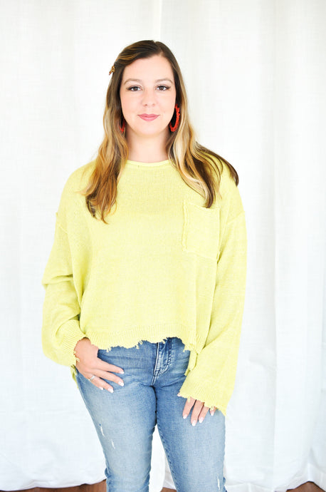 Limelight Knit Sweater