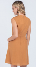 Load image into Gallery viewer, Pumpkin Spice Sleeveless Dress