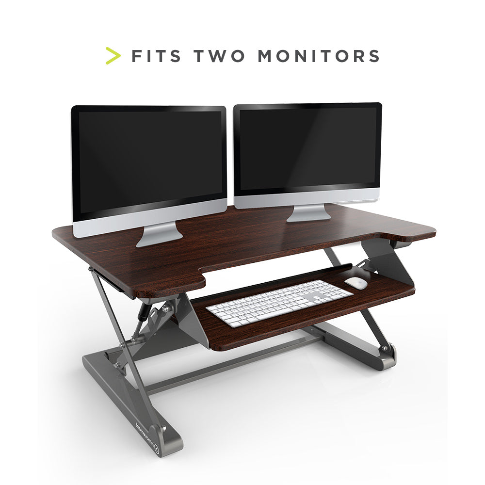 InMovement Standing Desk Pro DT20 fits 2 minitors