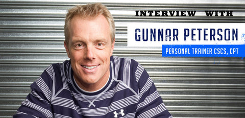 Gunnar Peterson Headshot - Unsit Treadmill User