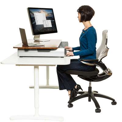 InMovement Elevate Desktop DT2 Standing Desk Converter