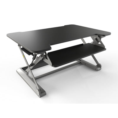 InMovement Standing Desk Pro DT20 facing right black color