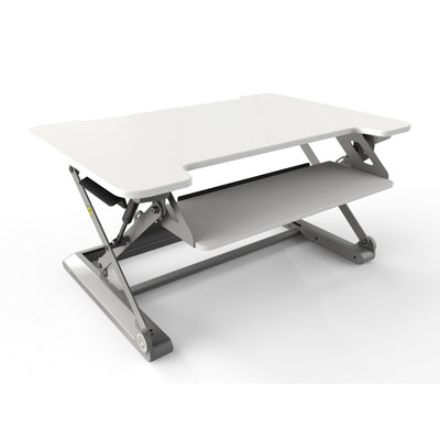 InMovement Standing Desk Pro DT20 facing right white color