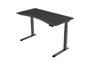 InMovement Unsit Standing Desk 48x30 - black frame - black top