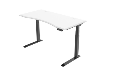 InMovement Unsit Standing Desk 48x30 - black frame - white top