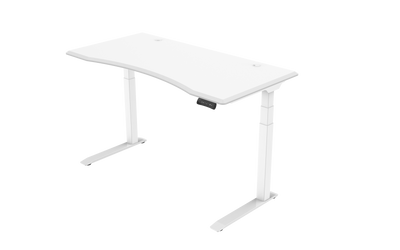 InMovement Unsit Standing Desk 48x30 - white frame - white top