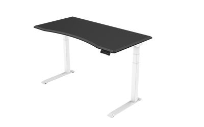 InMovement Unsit Standing Desk 60x30 - white frame - black top