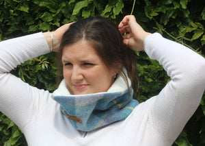 Blue Pastel Neck Warmer