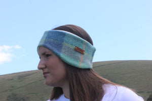 Blue Headband and Neck Warmer Gift Set