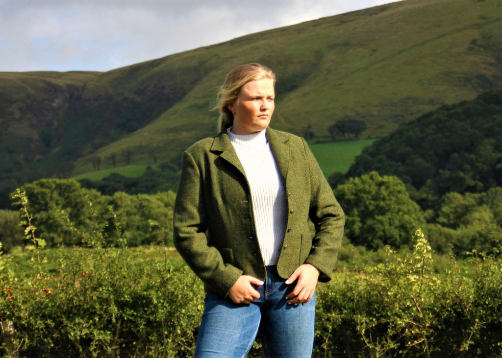 Green Welsh Tweed Jacket