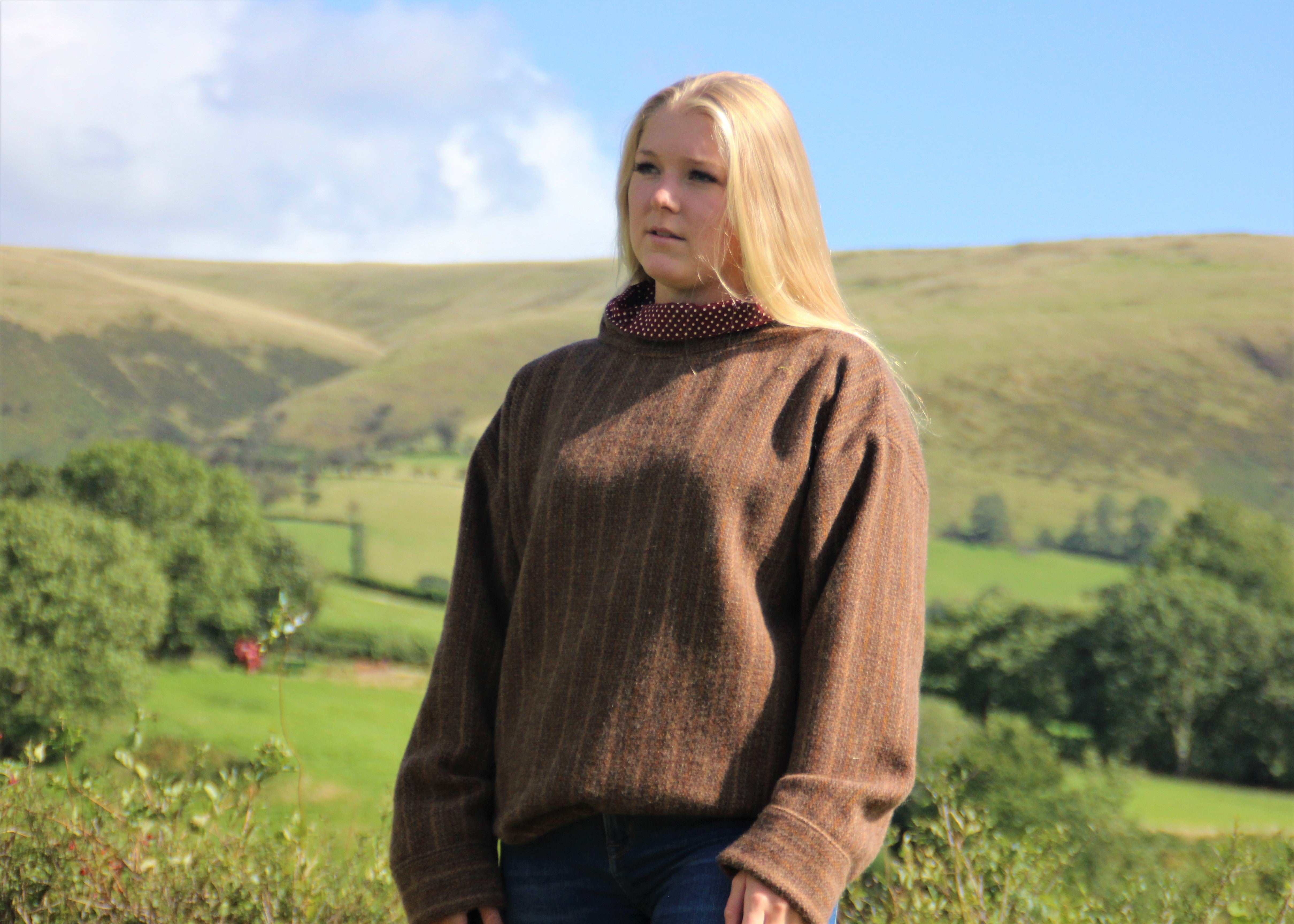 Emlyn Tweed Jumper