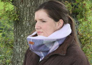 Purple Pastel Neck Warmer