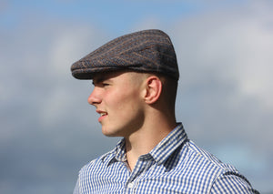 Conwy Chain Flat Cap