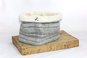 Jacob Light Grey Neck Warmer