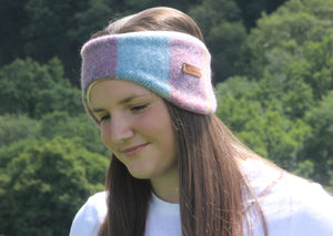 Pink and Blue Pastel Headband