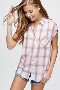 Wrenn Plaid Button Down Shirt