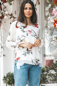 Eleanor Floral Print Top