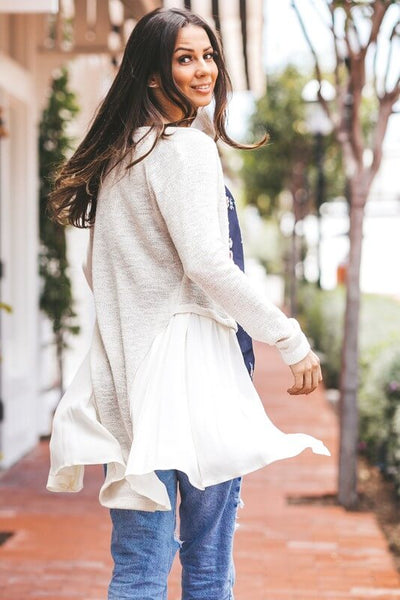 Elizabeth Skirted Cardigan
