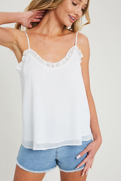 Haven Lettuce Trimmed Camisole