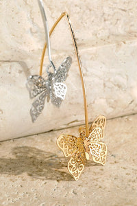Anastasia Butterfly Dangle Earrings