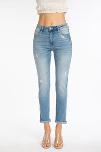 KanCan High Rise Medium Wash Skinny Jeans
