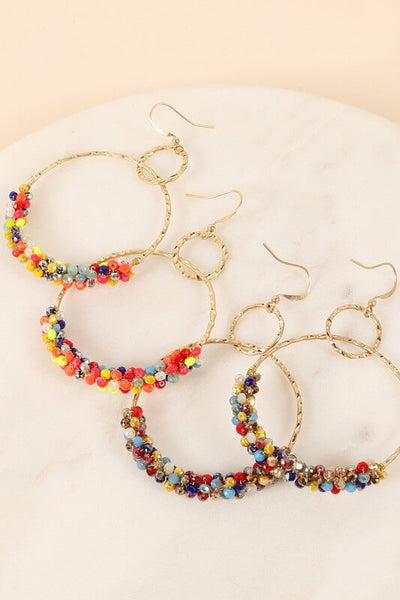 Renee Beaded Dangle Earrings
