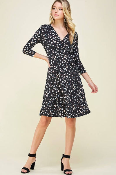Kinsley Faux Wrap Dress
