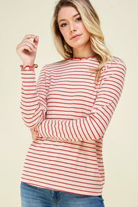 Lilianna Striped Top