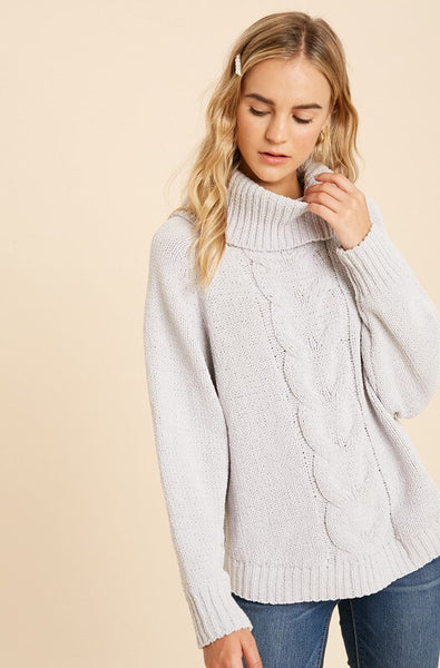 Paris Cable Knit Sweater