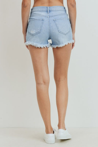 Lakeside High Rise Button Fly Shorts